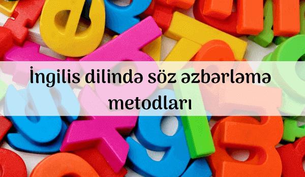 İngilis dilində söz əzbərləmə metodları