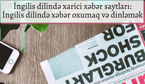 İngilis dilində xarici xəbər saytları